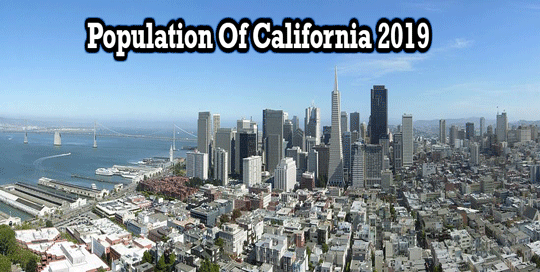 Population Of California 2019