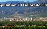 population of Colorado 2019