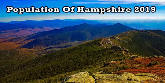 population of Hampshire 2019