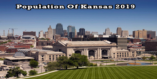 population of Kansas 2019