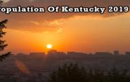 population of Kentucky 2019