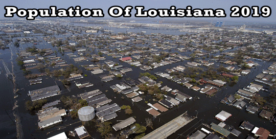 population of Louisiana 2019