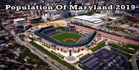 population of Maryland 2019