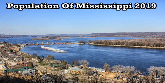 population of Mississippi 2019
