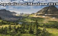 population of Montana 2019