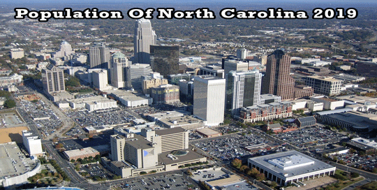 population of North Carolina 2019