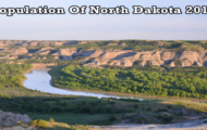 population of North Dakota 2019