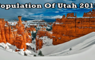 population of Utah 2019