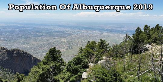 population of Albuquerque 2019
