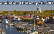 population of Annapolis 2019