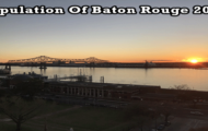 population of Baton Rouge 2019