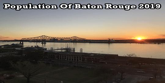 population of Baton Rouge 2019