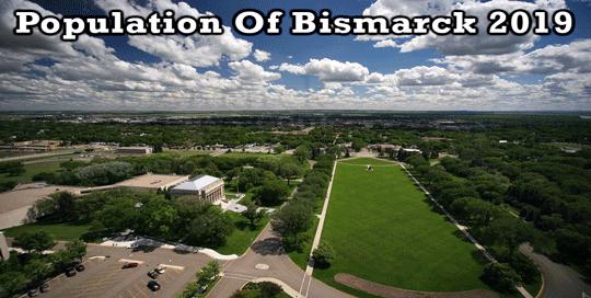 population of Bismarck 2019