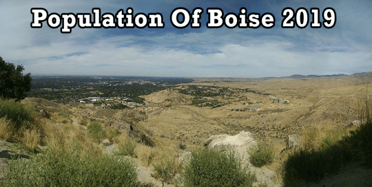population of Boise 2019
