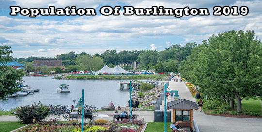 population of Burlington 2019