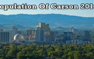 population of Carson 2019