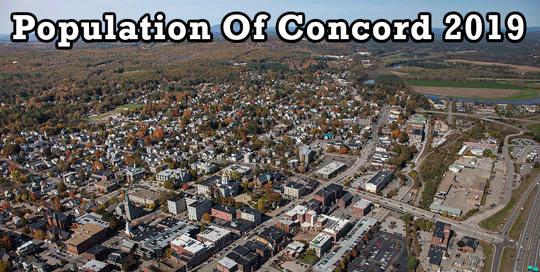 population of Concord 2019