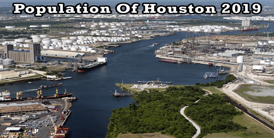 population of Houston 2019