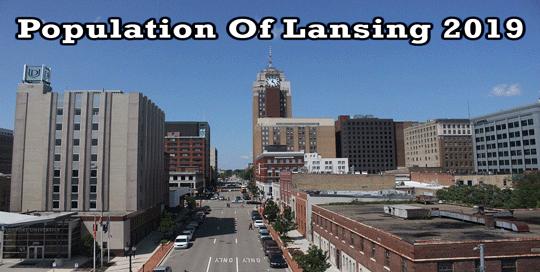 population of Lansing 2019