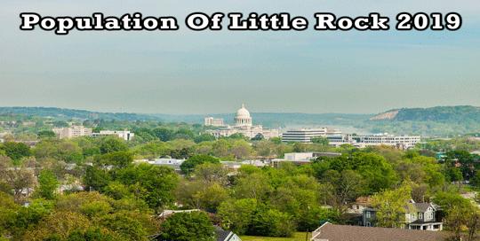 population of Little Rock 2019