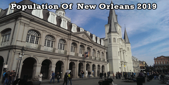 New Orleans Population 2020.Population Of New Orleans 2019
