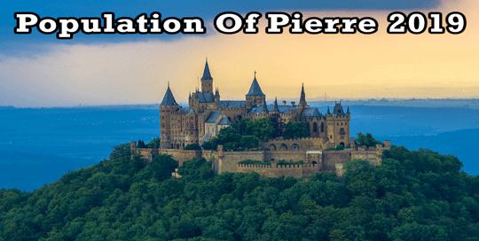 population of Pierre 2019