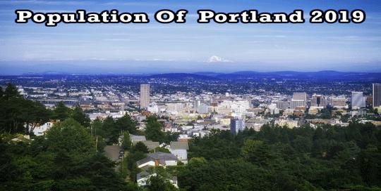population of Portland 2019