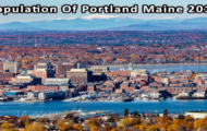 population of Portland Maine 2019
