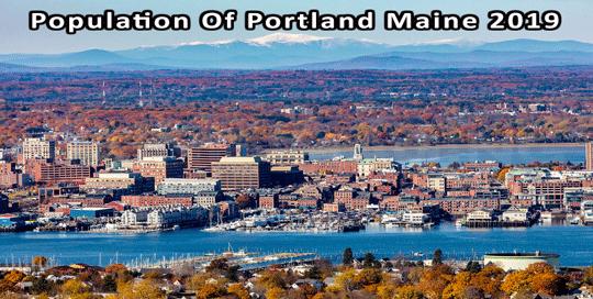 population of Portland Maine 2019